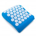 Массажная акупунктурная подушка (анатомическая) EcoRelax, голубой