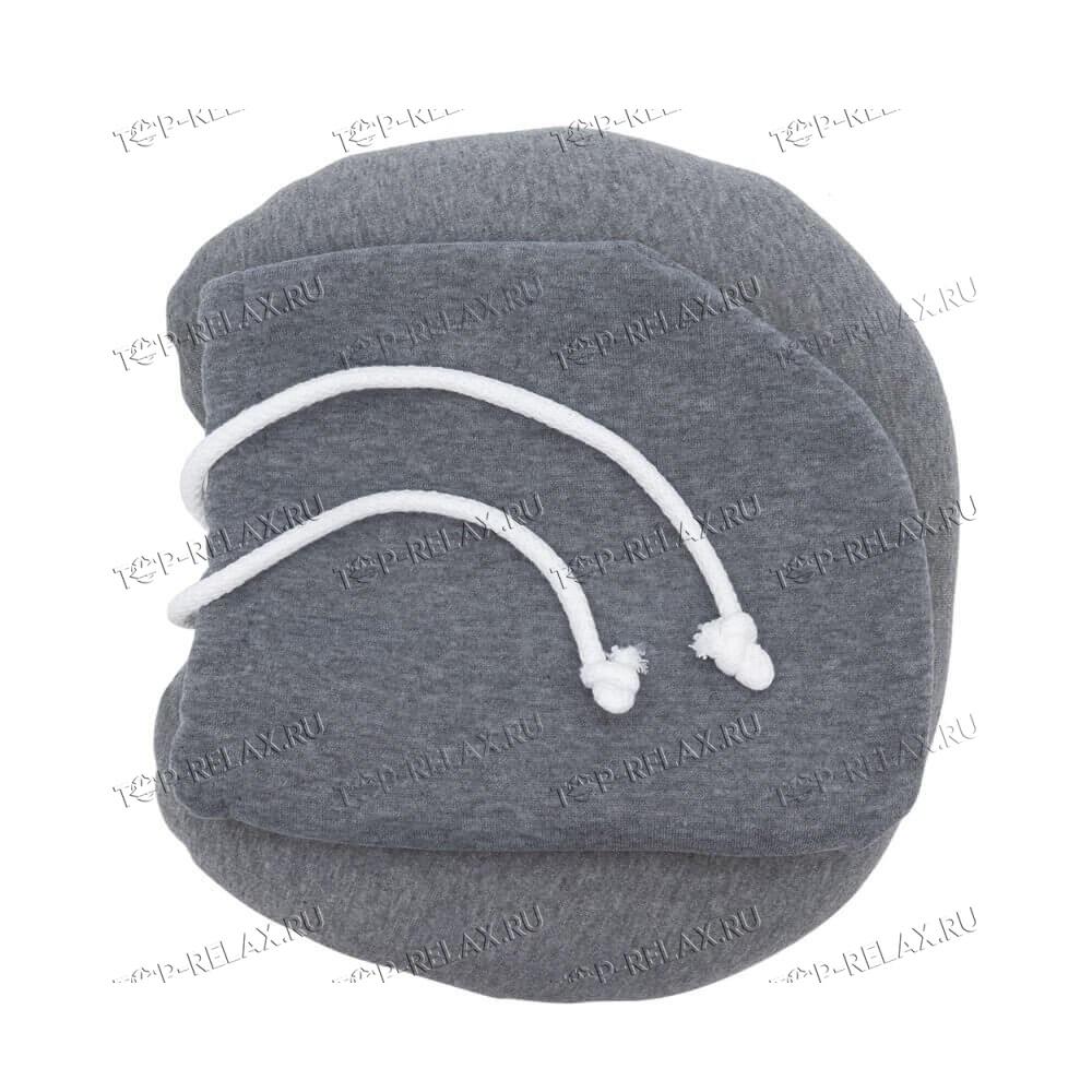 Подушка-воротник для путешествий с капюшоном - 3